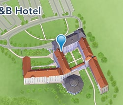 Map of B&B Hotel