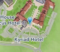 Map of Kyriad Hotel