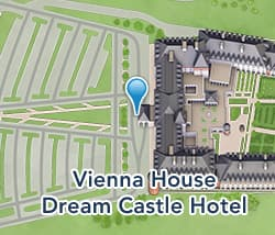 Map of Vienna House Dream Castle Hotel