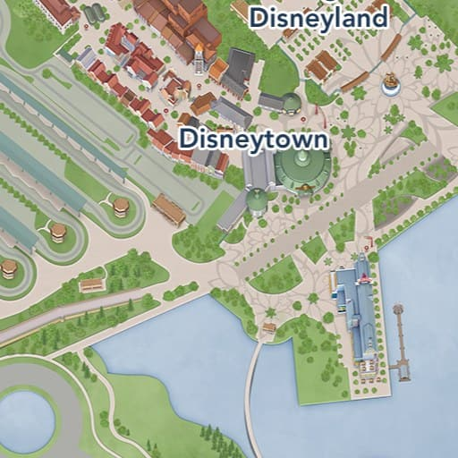 Shanghai Disney Resort Map on