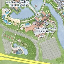 Walt Disney World Map With Hotels.Walt Disney World Resort