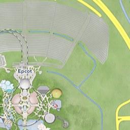 Maps of Attractions | Walt Disney World Resort Disney Epcot Map on