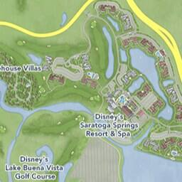 Maps of Attractions | Walt Disney World Resort Disneyworld Map on