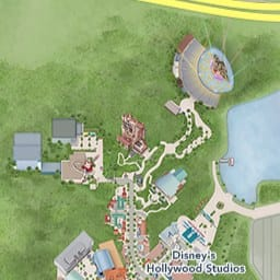 Maps of Attractions | Walt Disney World Resort Disney World Hotel Map on